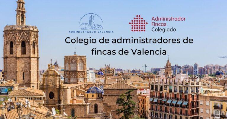 colegio de administradores de fincas de Valencia